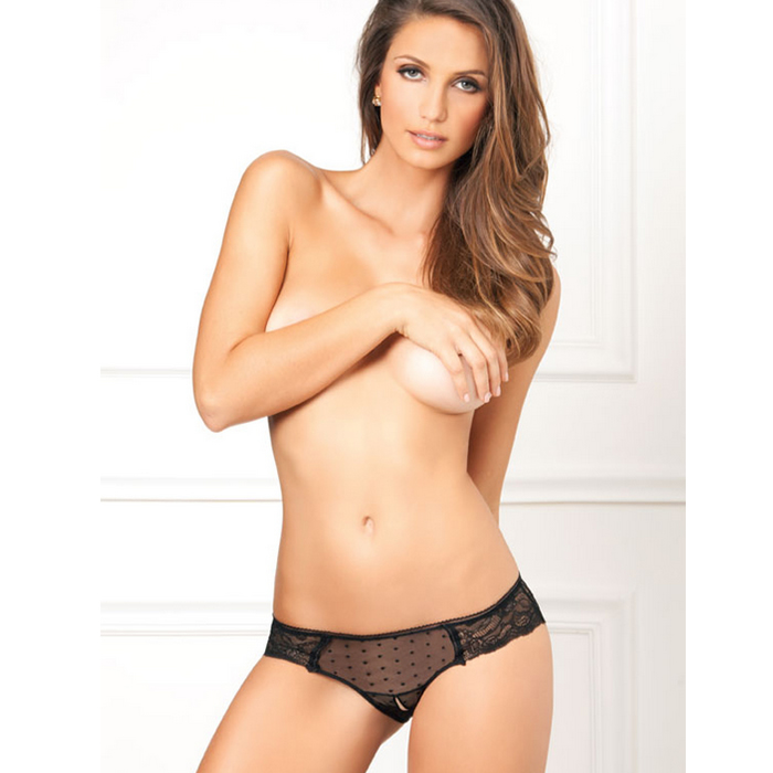 Hlačke Lace and dots Rene Rofe